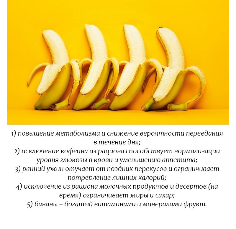 Похудела банановая диета отзывы