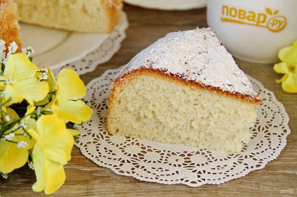 Бисквит для торта в мультиварке