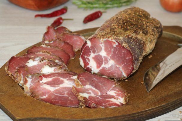 Мясо, вяленое в домашних условиях