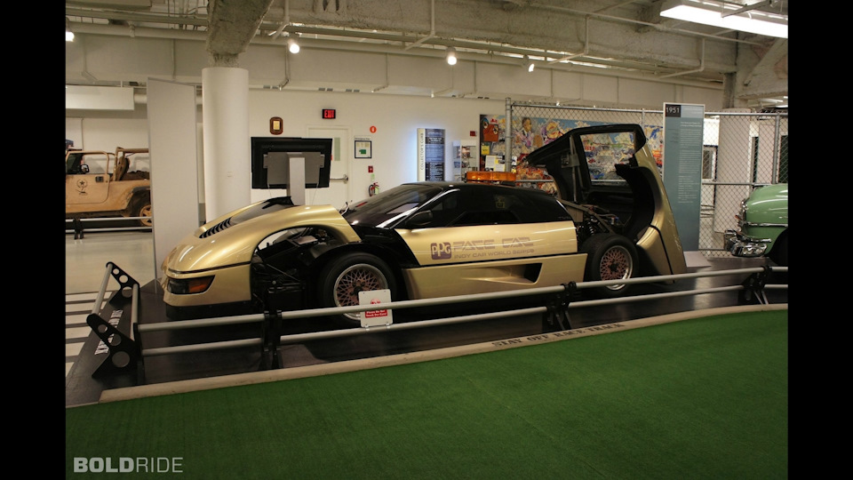 Dodge M4S из фильма «Дух мщения» и при чем здесь пейс-кары CART