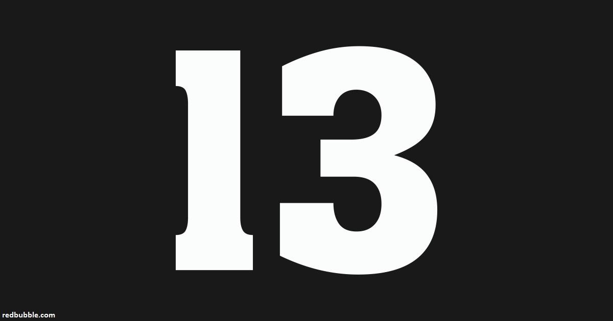 Когда нибудь задумывались, почему люди боятся числа ″13″? Вот почему