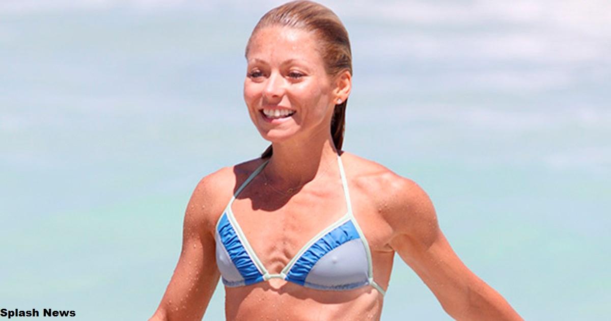 48 летняя Келли Рипа говорит, что секрет ее пляжных фото   щелочная диета