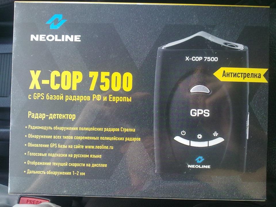 Радар-детектор Neoline X-COP 7500: характеристики, прошивка, отзывы