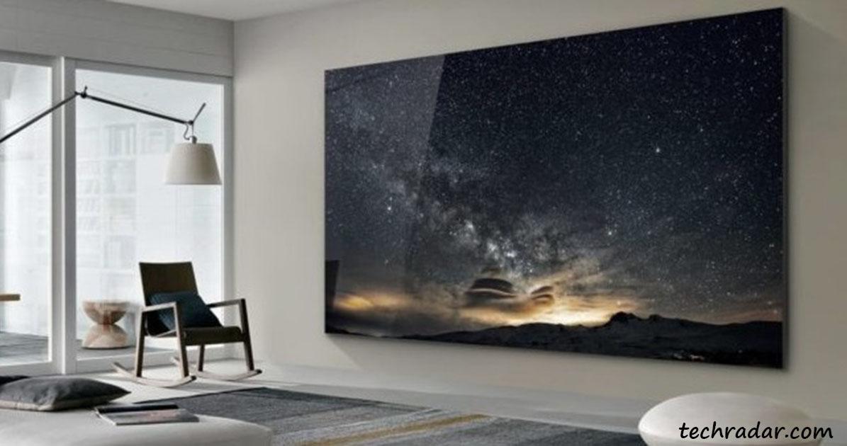 Samsung выпустил 219 дюймовый телевизор. Я уже никогда не выйду из дома!