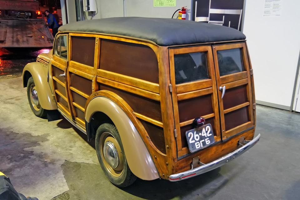 Москвич 400-422: советский Woody