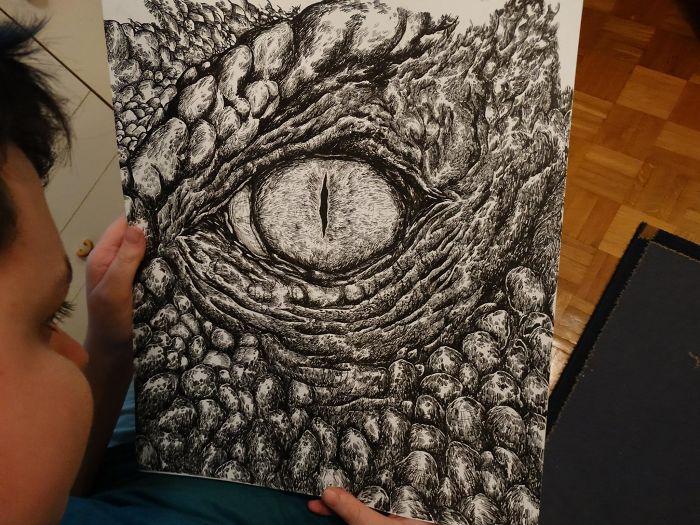 Я знал, что буду художником еще в 2 года. Вот что я нарисовал к 16