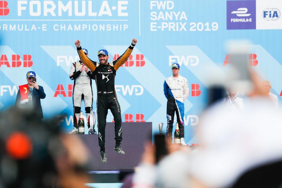 Formula E в Китае: шестая гонка — шестой победитель