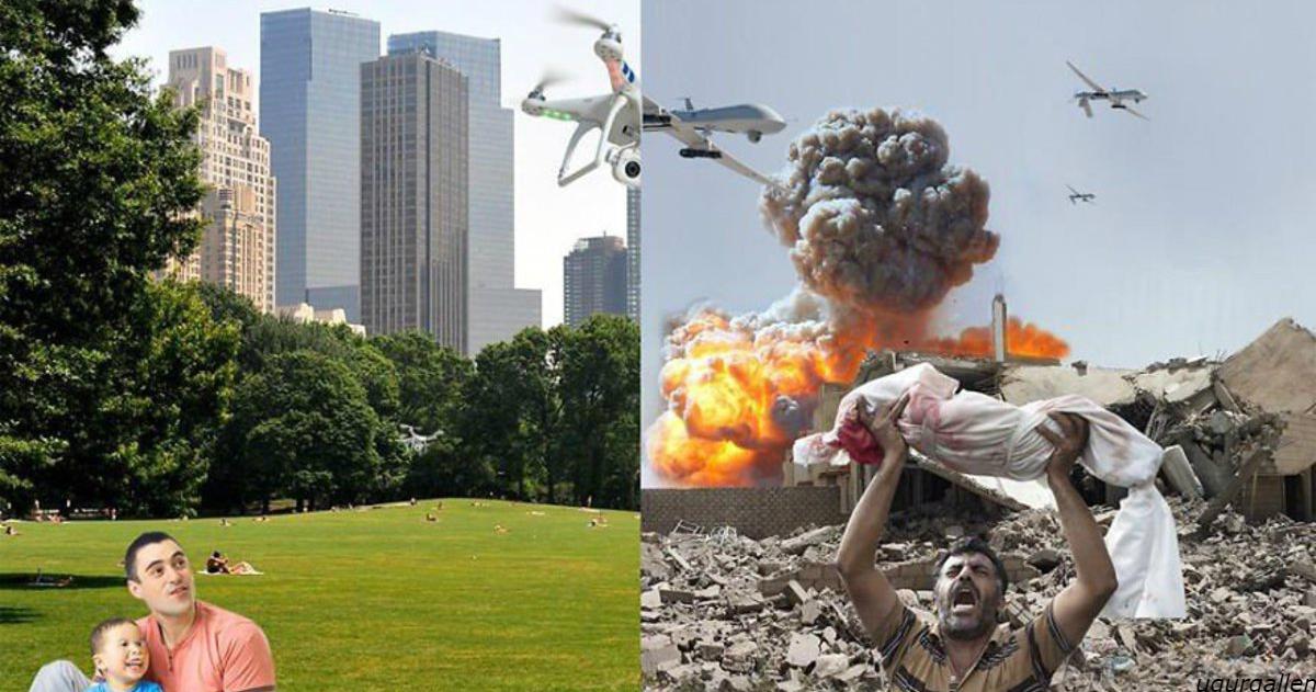Я показываю контраст между двумя мирами, в которых нам приходится жить