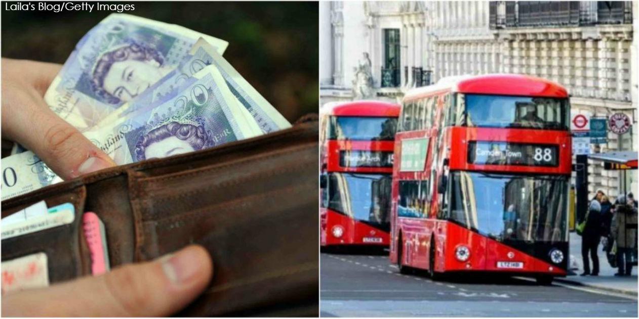 Уборщик нашел 300 000 фунтов в автобусе   и отдал их полиции