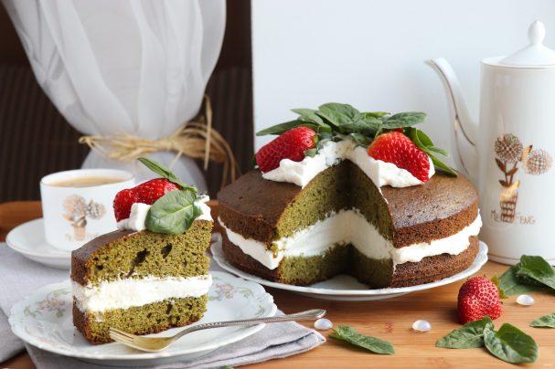 Торт из шпината