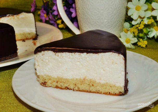 Классический торт  Птичье молоко