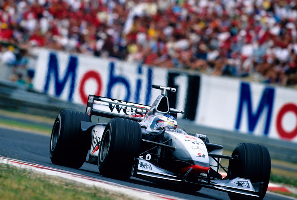 McLaren MP4/13 Mercedes. Счастливая «чёртова дюжина»