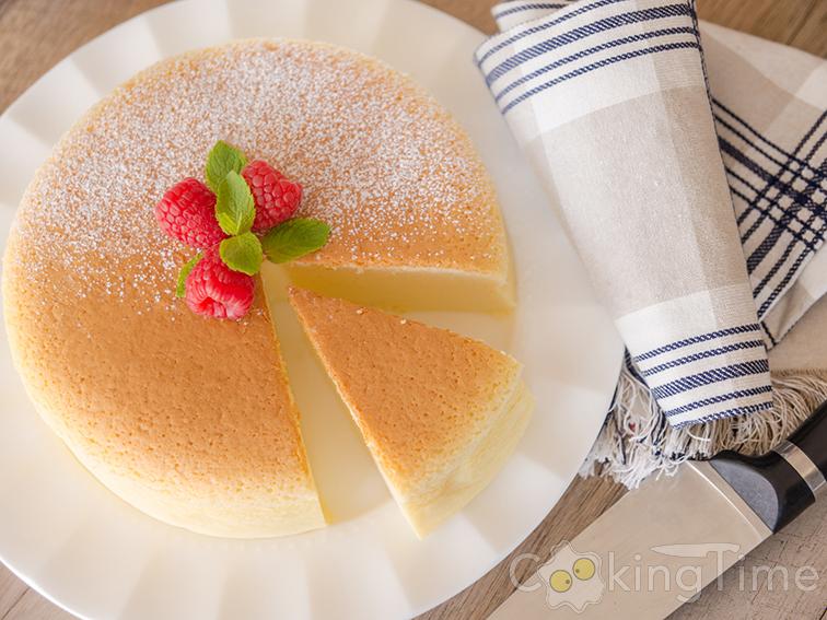 Знаменитый японский торт. Всего из 3 ингредиентов! Без муки. Без глютена.