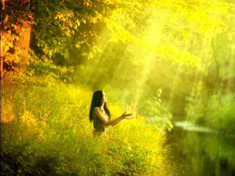 Это стихотворение исцеляет тело и душу, помогает даже тем, кто не верит.