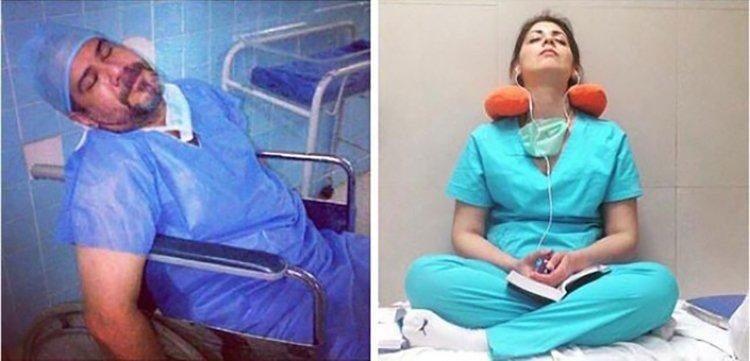 «Мы живые люди, а не машины»: врачи по всей Планете запустили трогательный флэшмоб