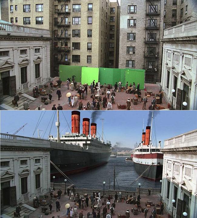 45 сцен из популярных фильмов до того, как на них наложили спецэффекты