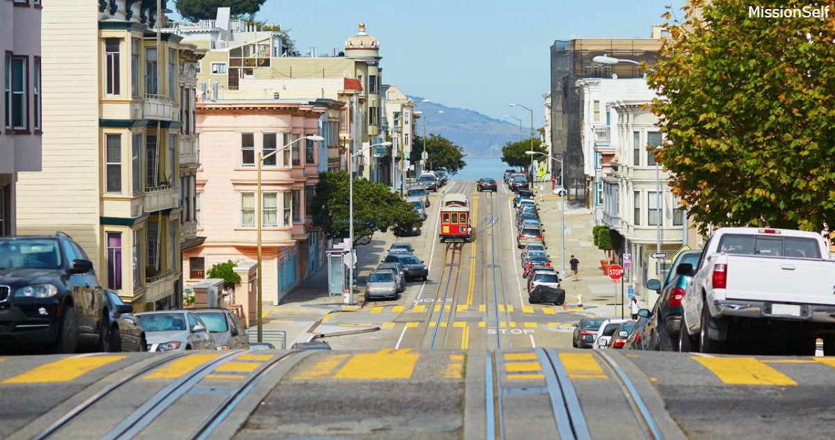 Сан-Франциско стал таким дорогим, что 10 000 доллоров в год - это уже за чертой бедности