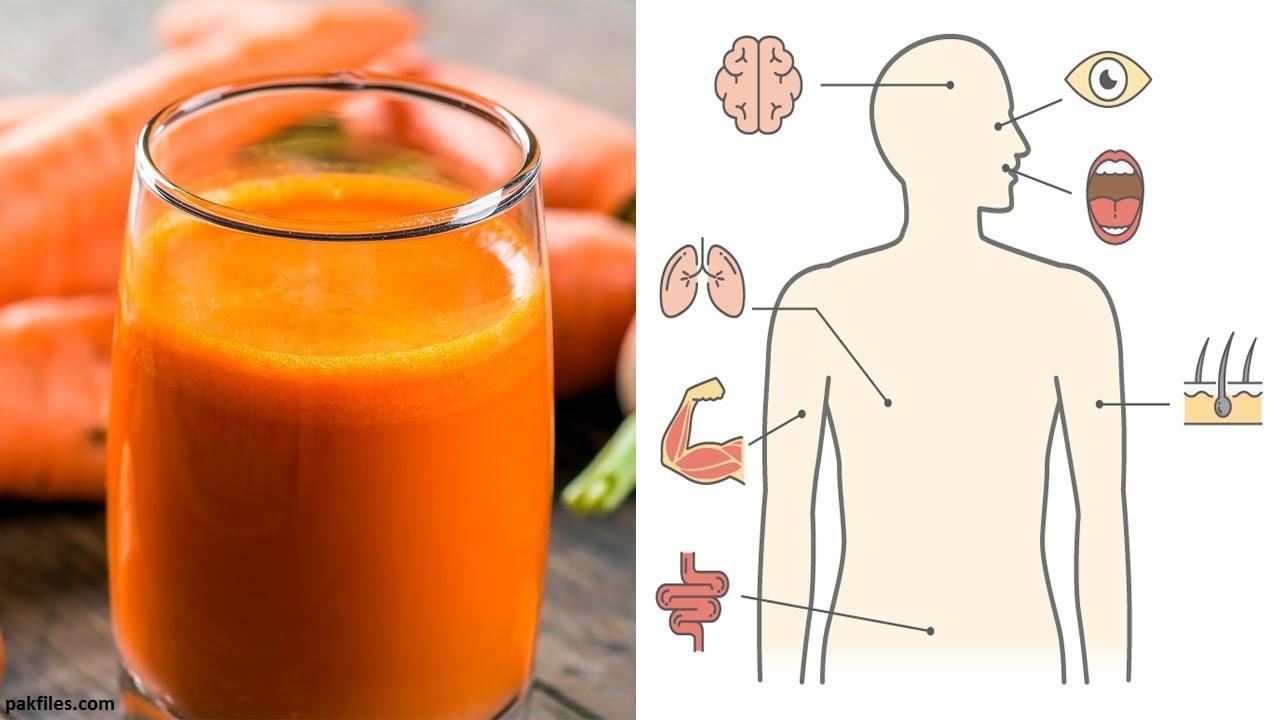 8 вещей, которые произойдут с вашим телом, если пить морковный сок по стакану в день
