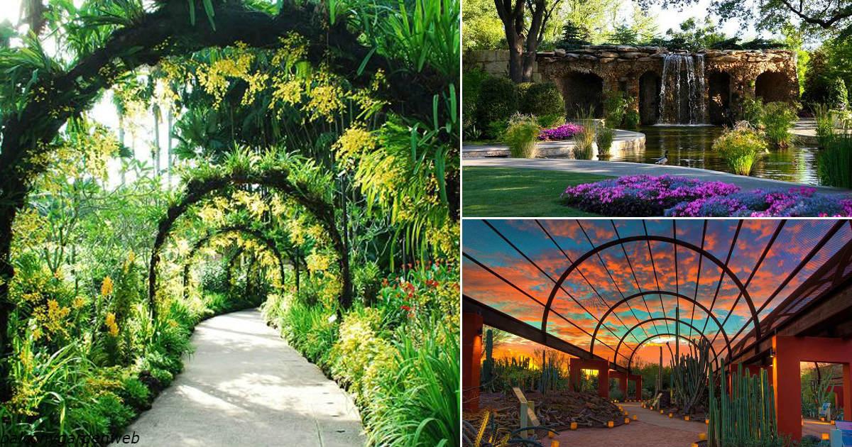 9 самых больших и красивых ботанических садов на планете