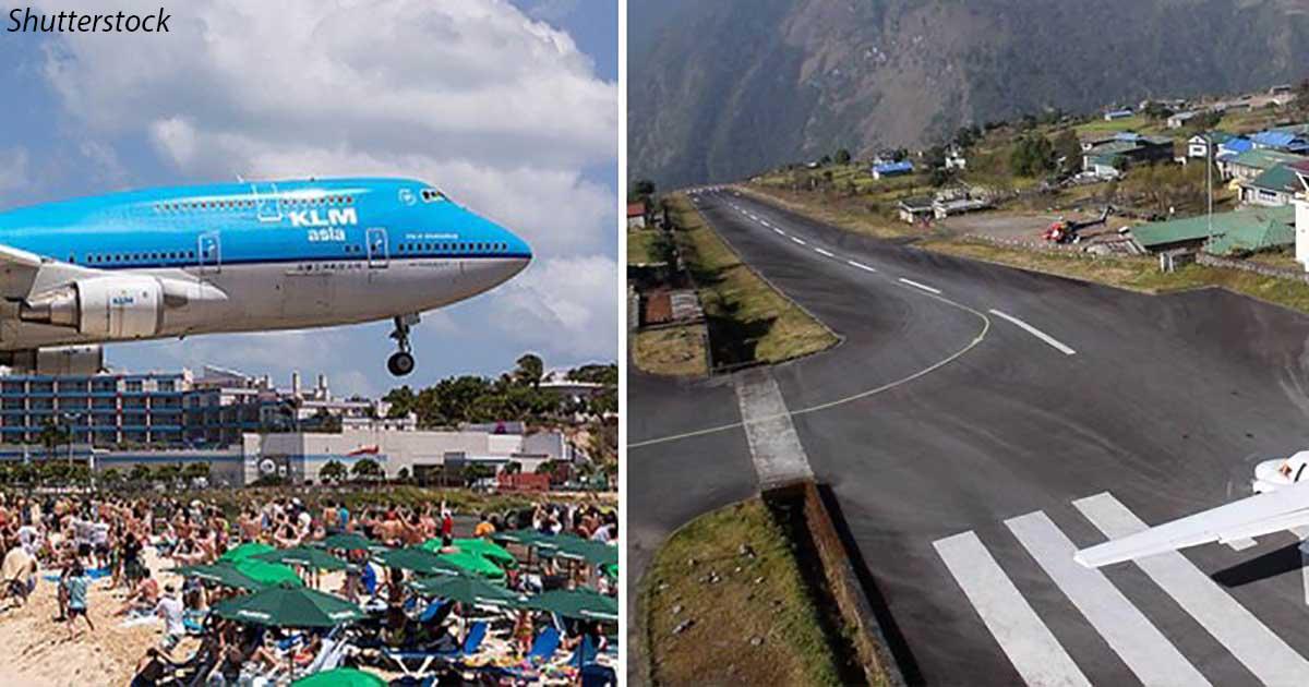 10 самых опасных аэропортов мира: приземление страшнее всех ваших полетов за жизнь