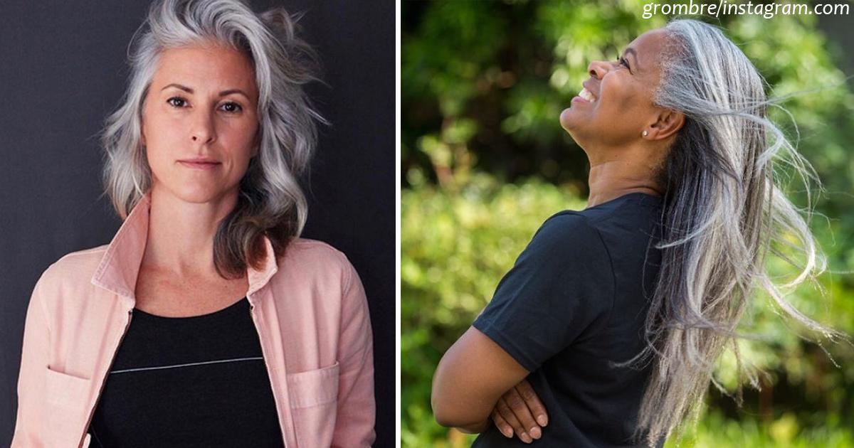 30 женщин, которые перестали красить волосы   и стали намного красивее