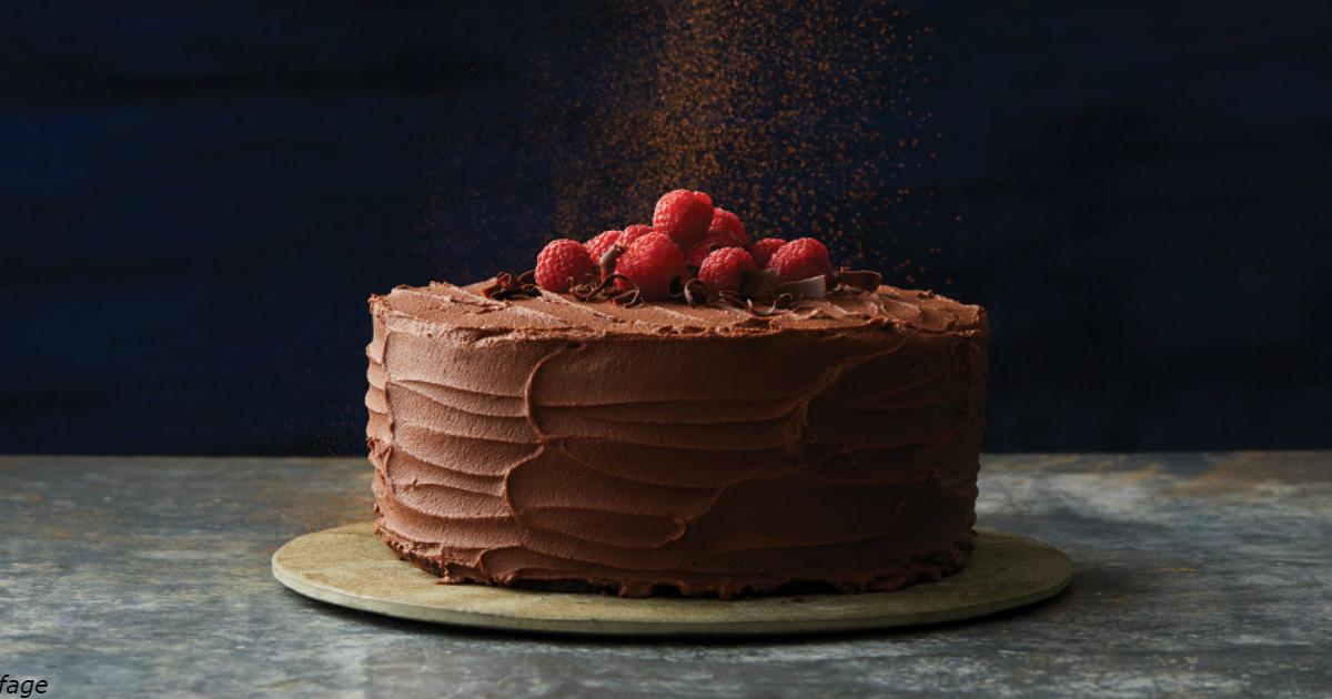 Самый быстрый шоколадный торт, который только можно придумать