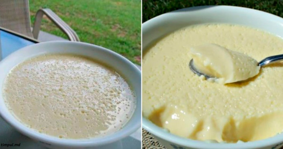 Быстрый десерт за 5 минут: легкий, вкусный и даже почти ″газированный″