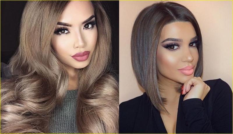 Пепельно коричневый оттенок волос – новый стиль