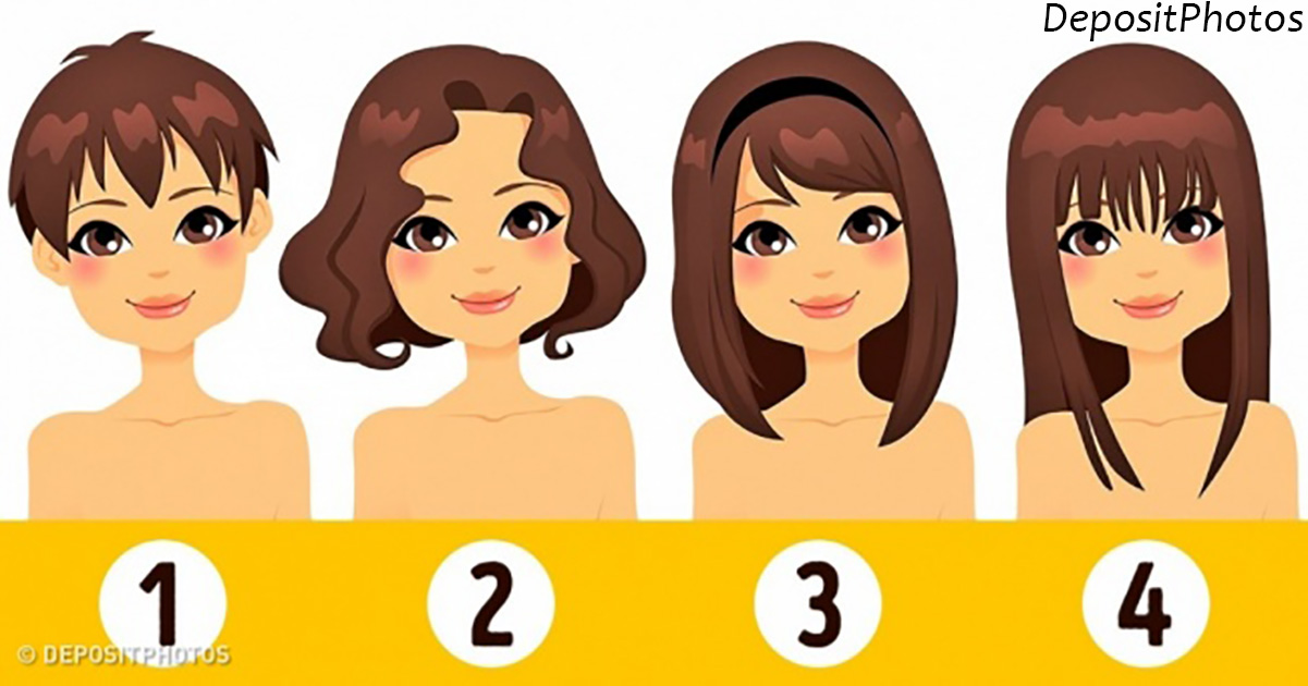 Выберите свою длину волос - и мы расскажем о вашей личности