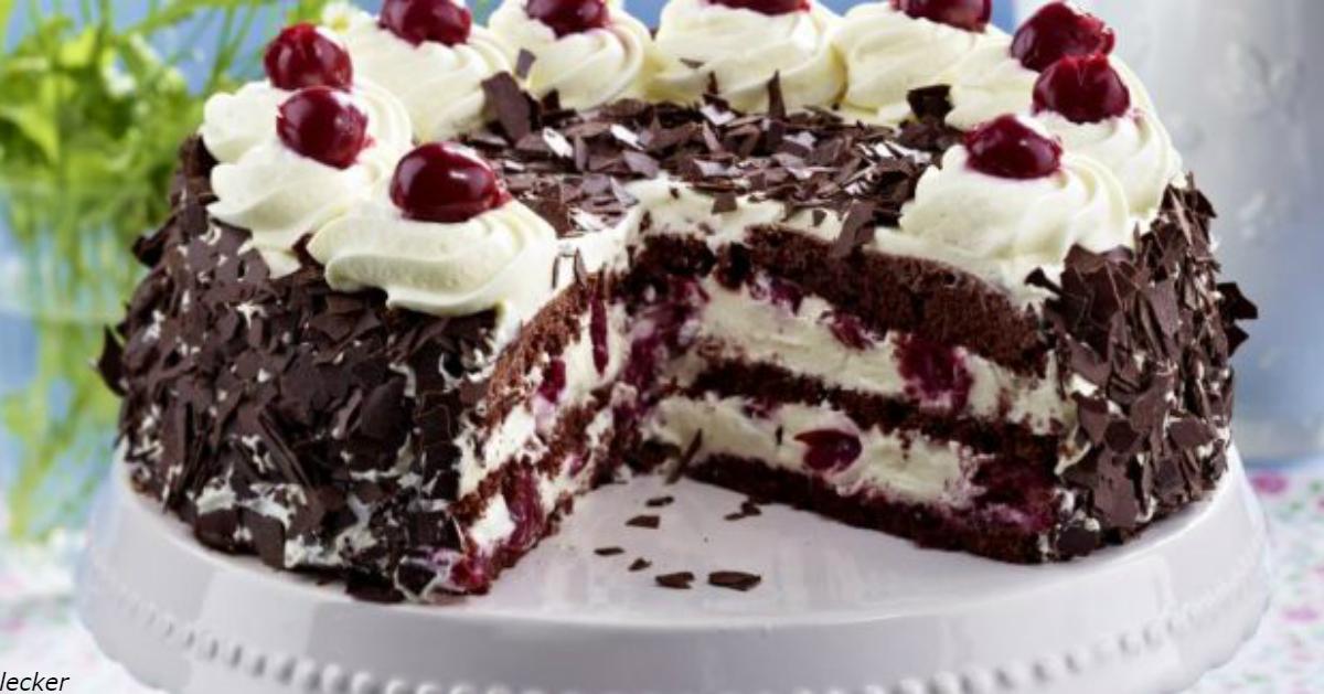 Торт ″Шварцвальд″: и сделать легко, и вкус бесподобный