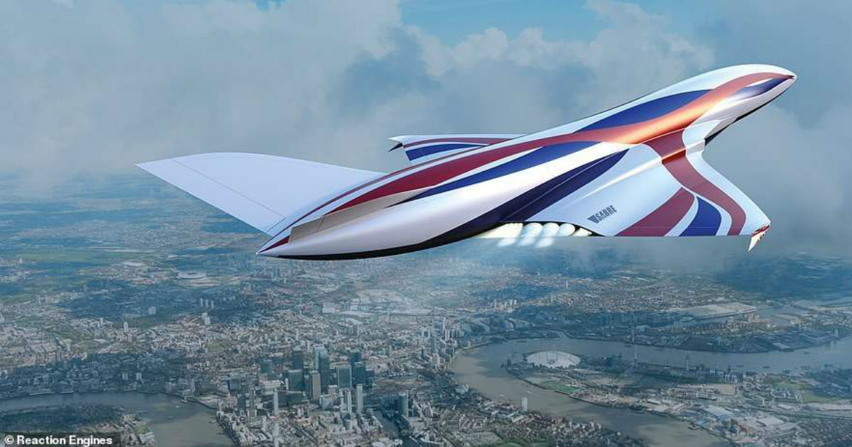 Через Атлантику быстрее, чем за час: представлен новый уникальный самолет