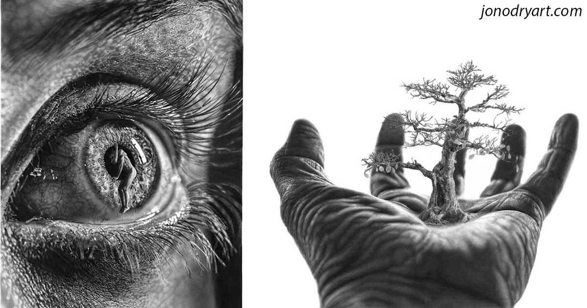 Как думаете, как была сделана эта ″фотография″? Уникальный метод!