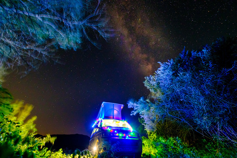 Перевал Калдамо и #Vanlife посередине нигде