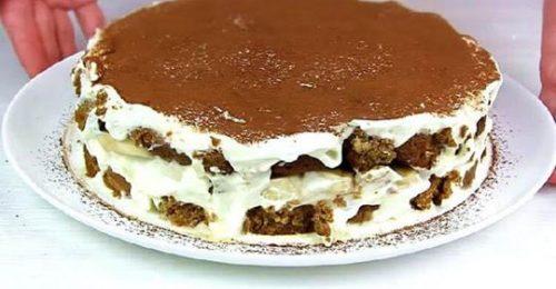 Нежнейший копеечный торт без выпечки, который влюбит в себя всех без исключения!