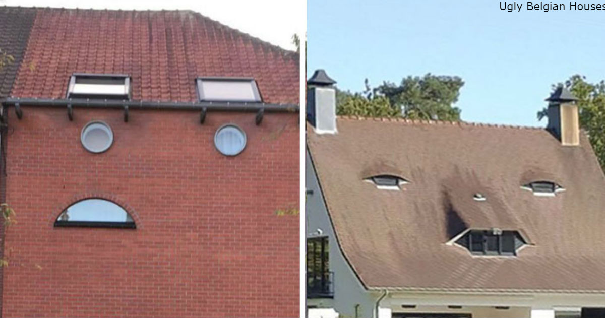 33 отвратительных на вид дома, которые можно увидеть только в Бельгии