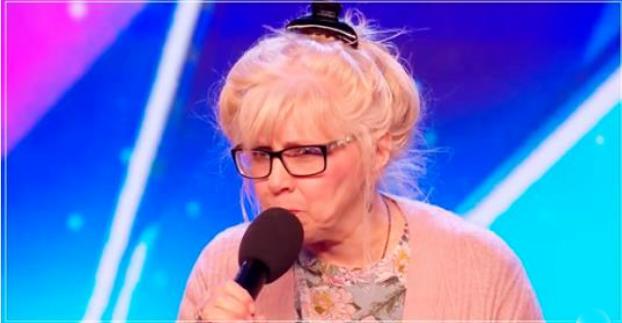 68-летняя женщина спела старый хит так, что судьи повскакивали со своих мест