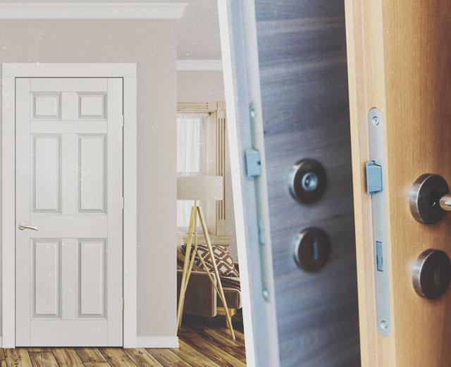 Как выбрать надёжную входную дверь