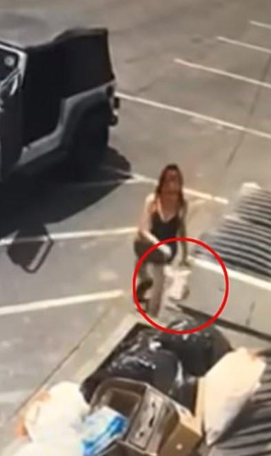 Ее арестовали за то, что она выбросила в мусорник маленьких щенят. Вот подробности