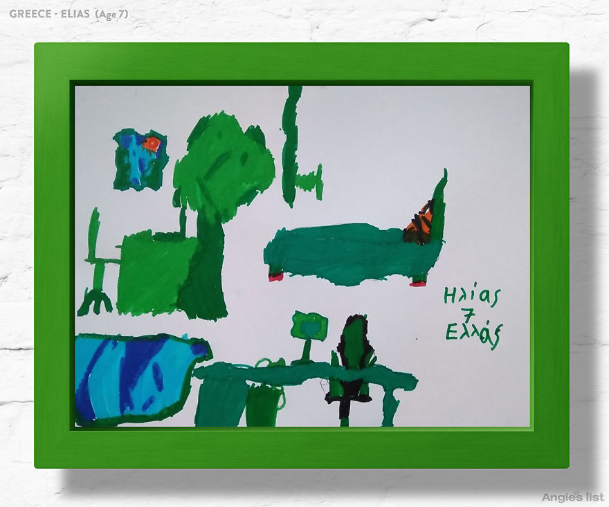 7 детей попросили нарисовать спальни их мечты. А потом взяли и сделали!