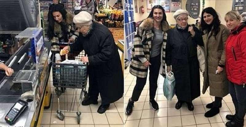 «Заплати за старика». В соцсетях запустили добрый и смелый флэшмоб