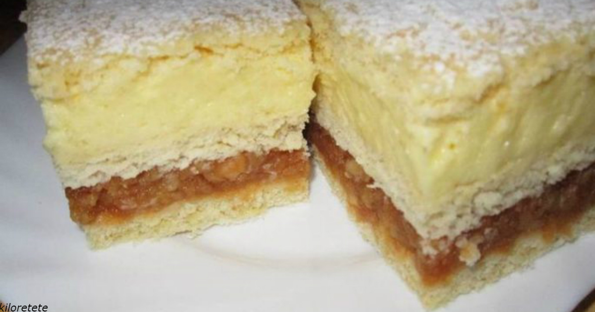 Яблочный пирог и ванильный пудинг: вот как сделать 2 в 1