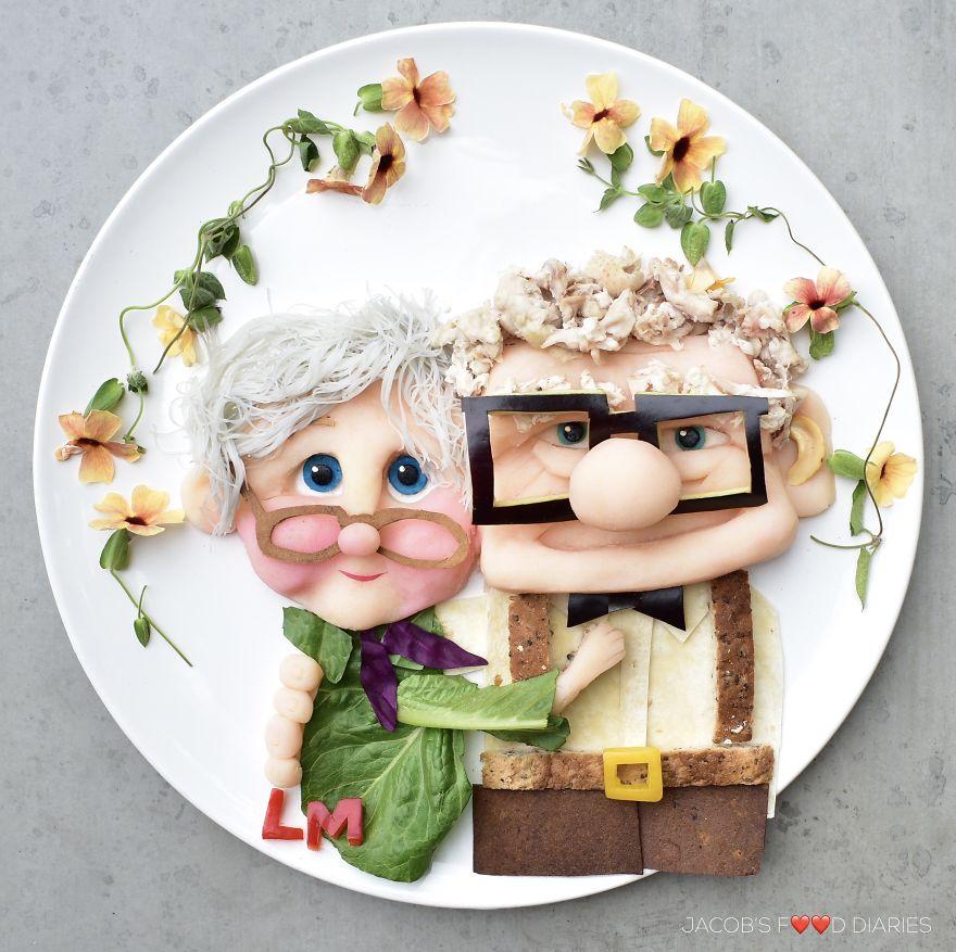 Чтобы мой сын ел здоровую пищу, я превращаю ее в героев мультфильмов