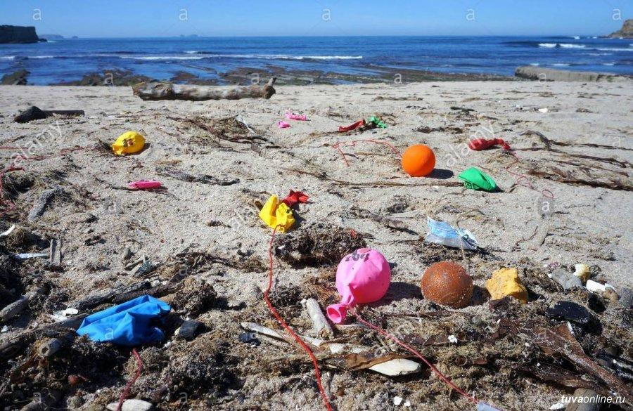 Воздушные шары, которые люди выпускают в небо, убивают миллионы животных