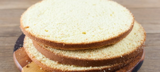 Самый простой рецепт бисквита