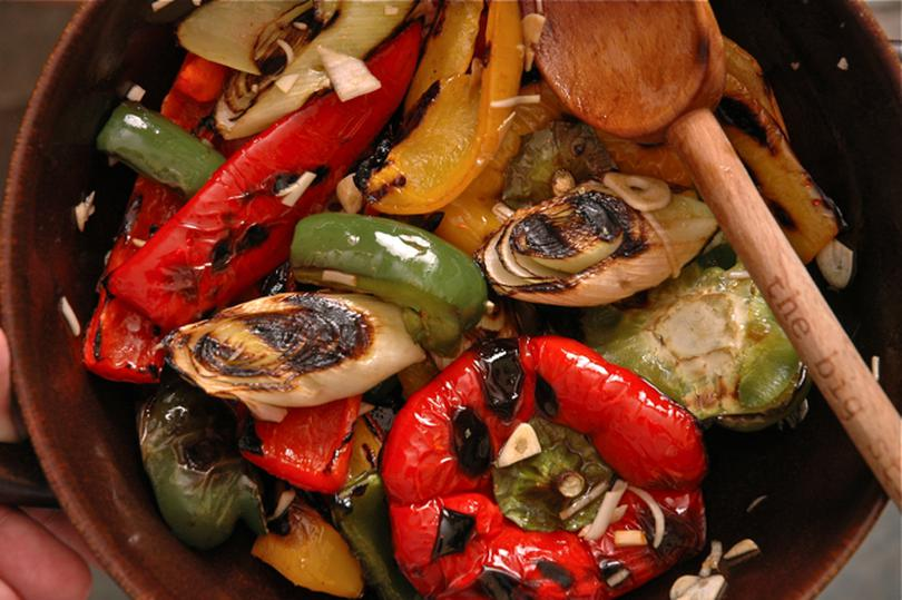 Овощи, запечённые в маринаде: очень вкусно!