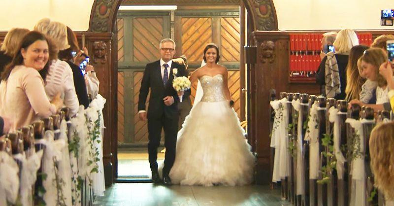 Эта невеста потрясла всех присутствующих в церкви