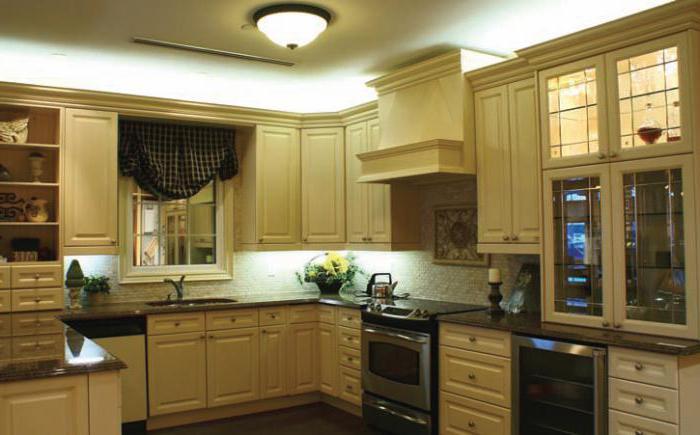 Как правильно выбрать светильник  на кухне: советы