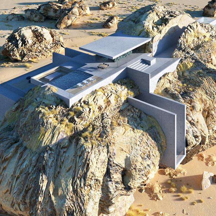 Места для жизни: архитектор создал проект дома в скале – идеальное сочетание природы и дизайна