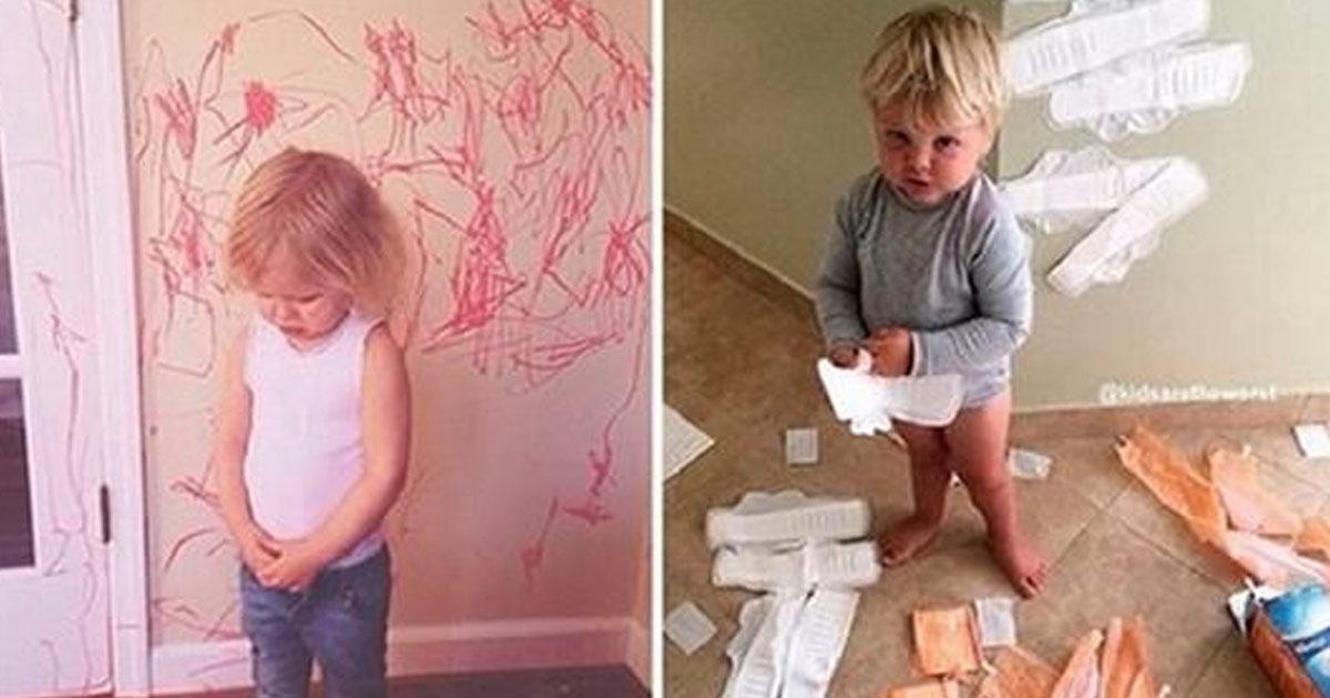 15 фото самых непослушных деток