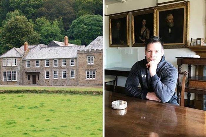 После теста ДНК бывший строитель сменил муниципальную квартиру на загородное поместье стоимостью 50 млн фунтов стерлингов